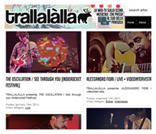 TRALLALÀLLA / web-tv