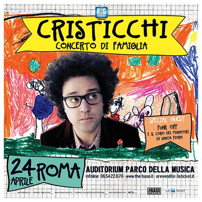 SIMONE CRISTICCHI / Poster Tour