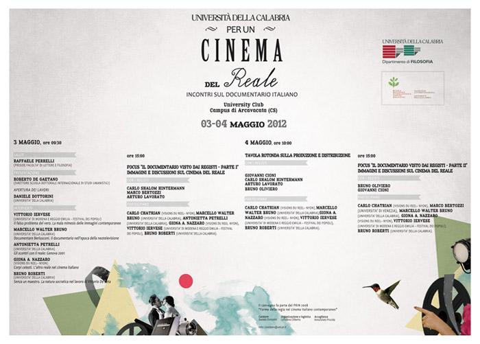 Per un Cinema del Reale / Università della Calabria