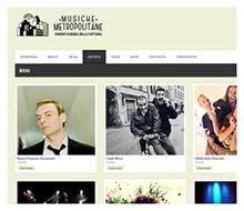 MUSICHE METROPOLITANE – sito